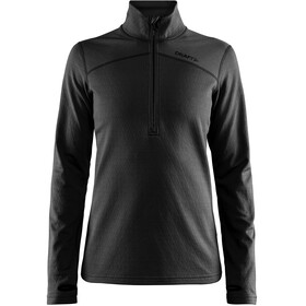 Craft W's Pin Halfzip Midlayer Black